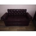 Малогабаритный офисный диван с подлокотниками