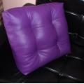 Мебельная подушка квадратная с утяжками