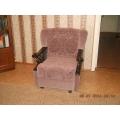 Кресло комбинированная перетяжка тканями компаньонами