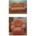 Перетяжка диван + кресло