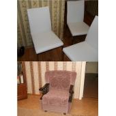 Кресла, стулья, табуретки, пуфы, кровати, подлокотники