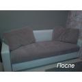 Частичная замена ткани на сиденьи дивана и подушках