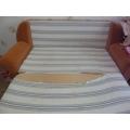 Замена ткани на выдвижном спальном месте дивана